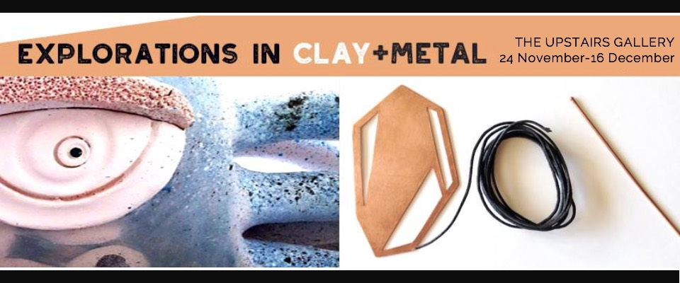 Explorations in Clay + Metal