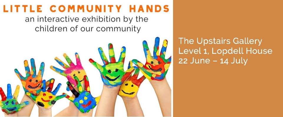 Little Community Hands - Upstairs Gallery - Titirangi
