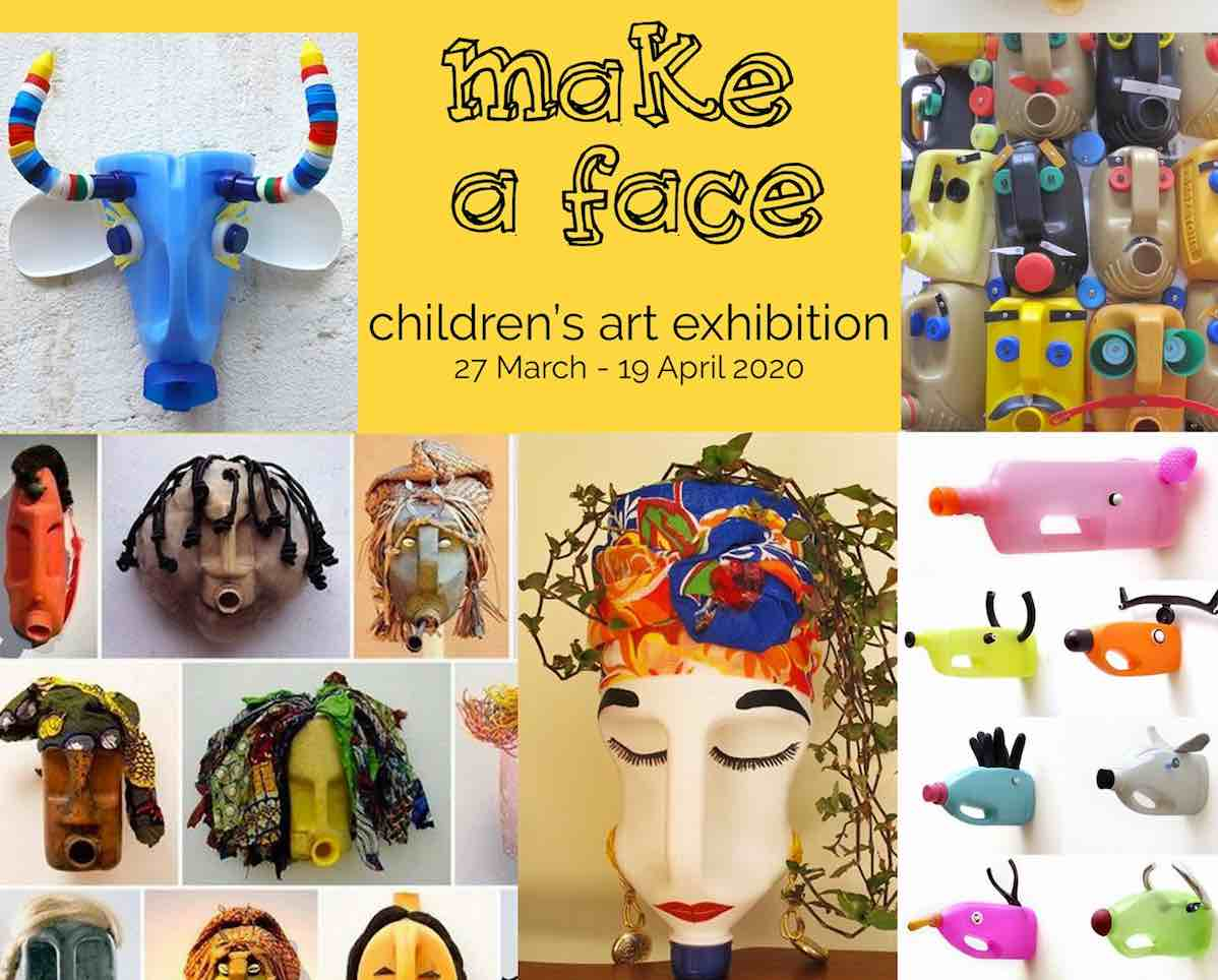 Make a Face Art Exhibition - The Upstairs Gallery - Lopdell House