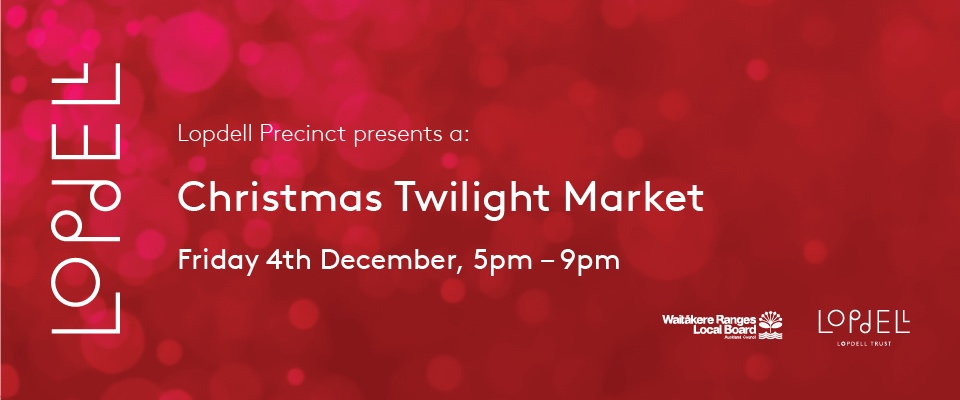 Lopdell Christmas Twilight Market 2020