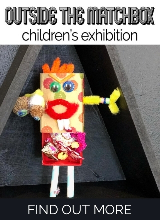 Upstairs Gallery - Outside the Marchbox - children's exhibition